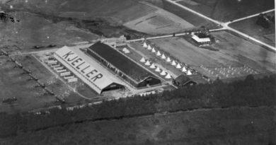 Norges første kampflybase